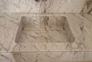Carrara Slot Drainer Sink